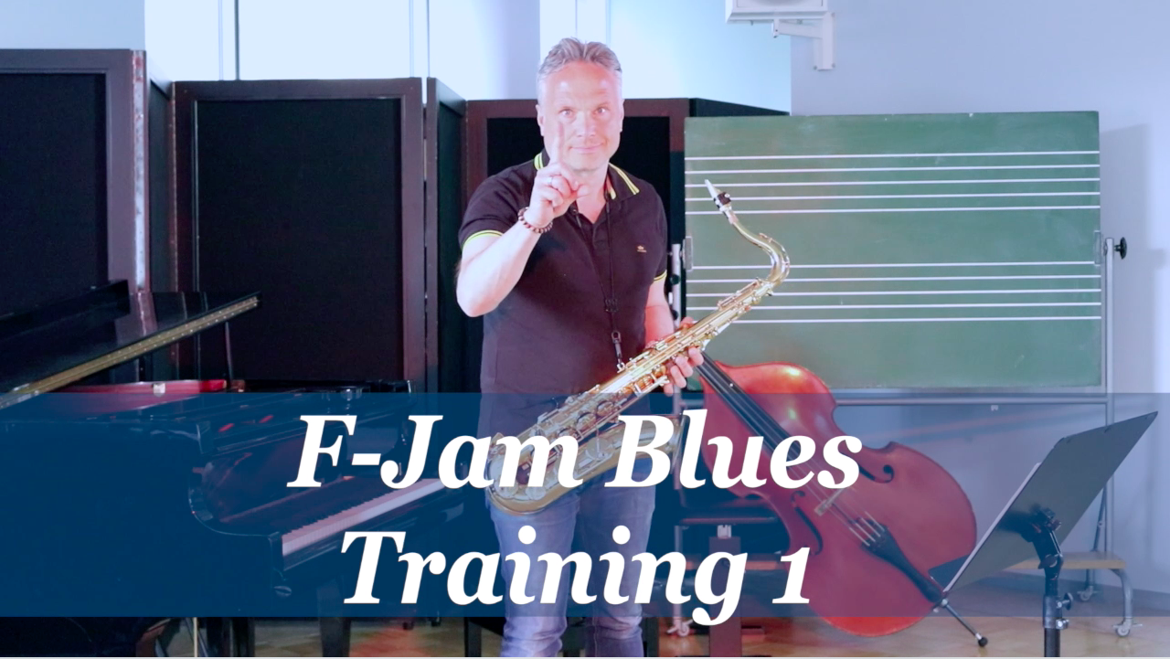F-Jam Blues - Training 1